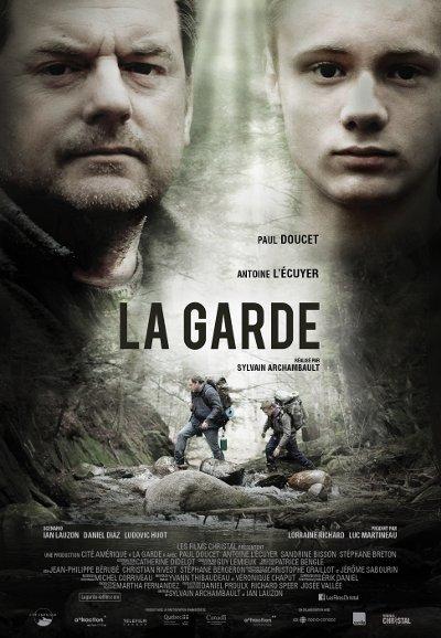 Affiche du film La garde de Sylvain Archambault (©Films Christal)