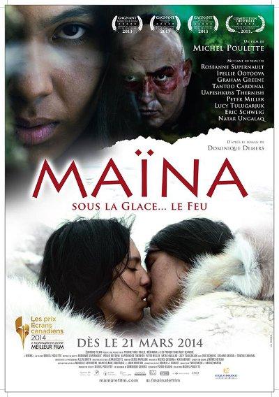 Affiche du film Maïna (M. Poulette - ©Equinoxe Films)