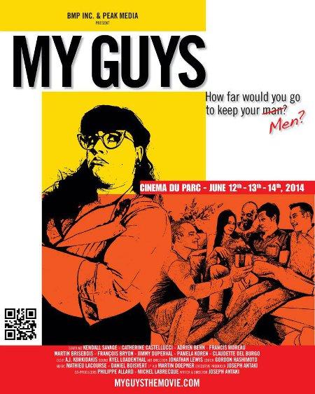 Affiche du film My Guys de Joseph Antaki
