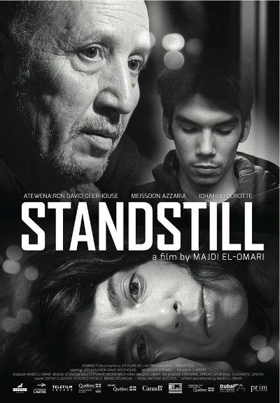 Affiche du film Standstill de Majdi El-Omari (©Domino Films)