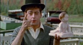 Jacques Desrosiers dans le film C'est pas la faute à Jacques Cartier (&cop;ONF, 1967)