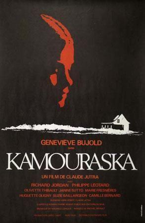 Affiche du film Kamouraska (Coll. Cinémathèque québécoise)