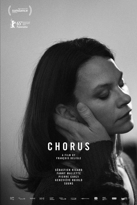 Affiche du film Chorus version Fanny Mallette (2014, François Delisle - ©FunFilm)