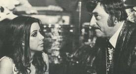 Carole Laure et Willie Lamothe dans La mort d'un bûcheron (Gilles Carle, 1972 - Coll. personnelle)