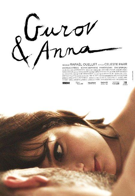 Affiche du film Gurov & Anna (Rafaël Ouellet, 2014 - ©Filmoption)