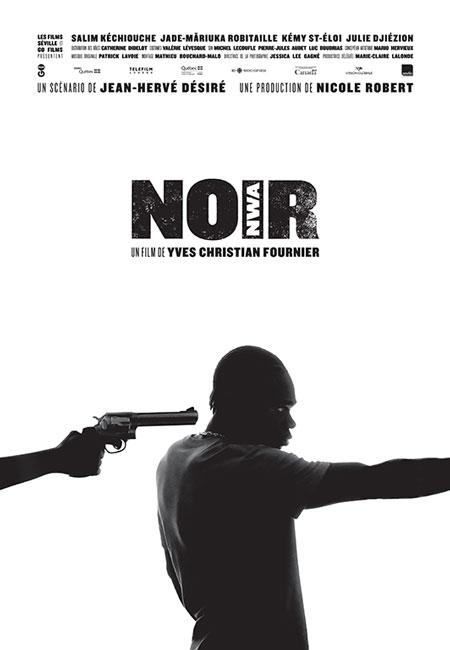 Affiche du film Noir de Yves Christian Fournier (Films Séville, 2015)