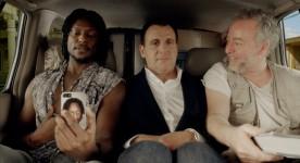 Gardy Fury, Patrick Huard et Guy Jodoin dans Ego Trip