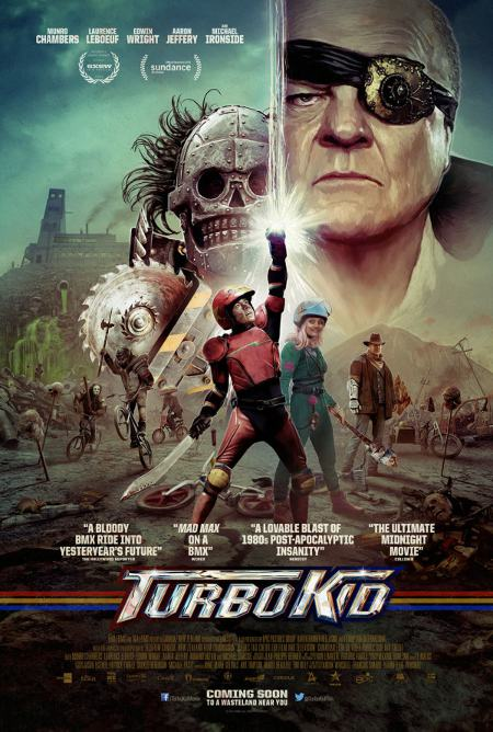 Image de l'affiche canadienne finale du film Turbo Kid