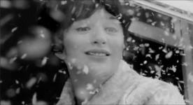 La comédienne Monique Joly dans le film La vie heureuse de Léopold Z (réal. Gilles Carle, 1965 - Source image : ONF)