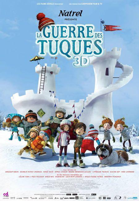 Affiche du film La guerre des tuques 3D