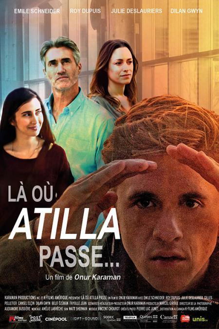 Affiche du film Là où Atilla passe (Onur Karaman)
