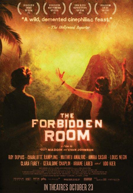 Affiche du film The Forbidden Room (Maddin, Johnson, 2015 - Métropole Distribution)
