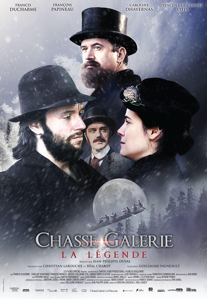 Affiche finale du film Chasse Galerie la légende