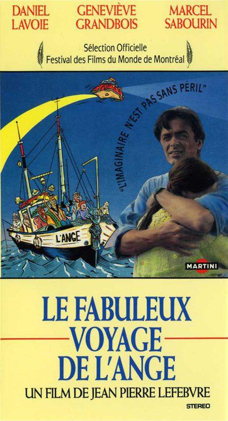 Jaquette de la VHS du film Le fabuleux voyage de l'ange (collection personnelle)