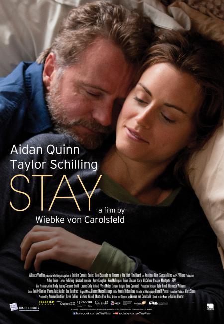 Affiche canadienne du film Stay de Wiebke von Carolsfeld