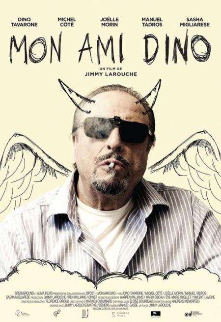 Affiche du film Mon ami Dino (2016, réal. Jimmy Larouche) - Source: Alma Films