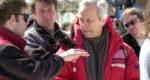 Station Nord de Jean-Claude Lord - (g.) Serge Desrosier (directeur photo) et (d.) Jean-Claude Lord (réalisateur)