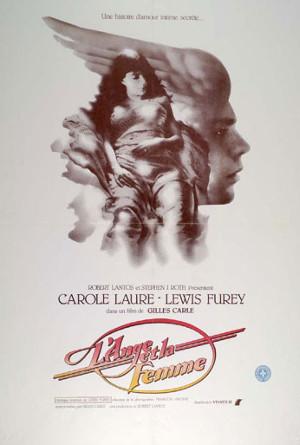 Affiche originale du film L'ange et la femme (coll. Cinémathèque Québécoise)