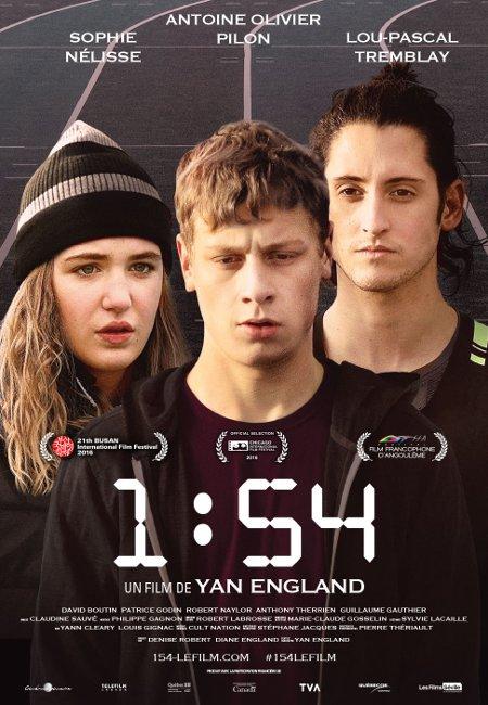 Affiche québécoise du film 1:54 (dist. Les Films Séville)