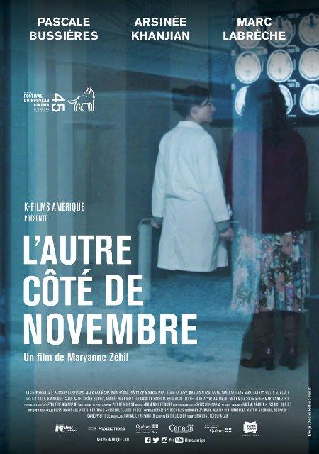 Affiche du film L'autre côté de novembre de Maryanne Zéhil (©K-Films Amérique)