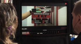 La chute de Sparte : image du tournage (source page Facebook du film)