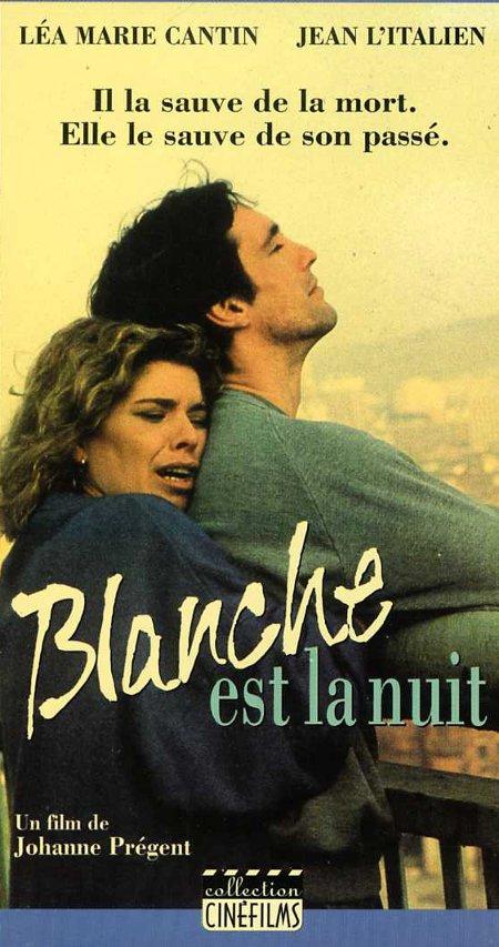 Couverture de la VHS du film Blanche est la nuit de Johanne Prégent (©filmsquebec.com)