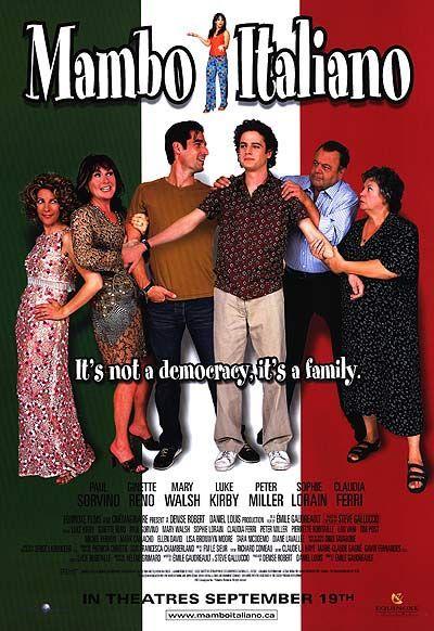Affiche du film Mambo Italiano