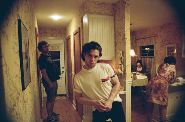 Tournage du film The Death And Life Of John F. Donovan de Xavier Dolan (le comédien américain Kit Harington)