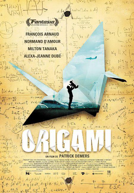"Affiche du film ""Origami"" de Patrick Demers (Source: Filmoption International)"