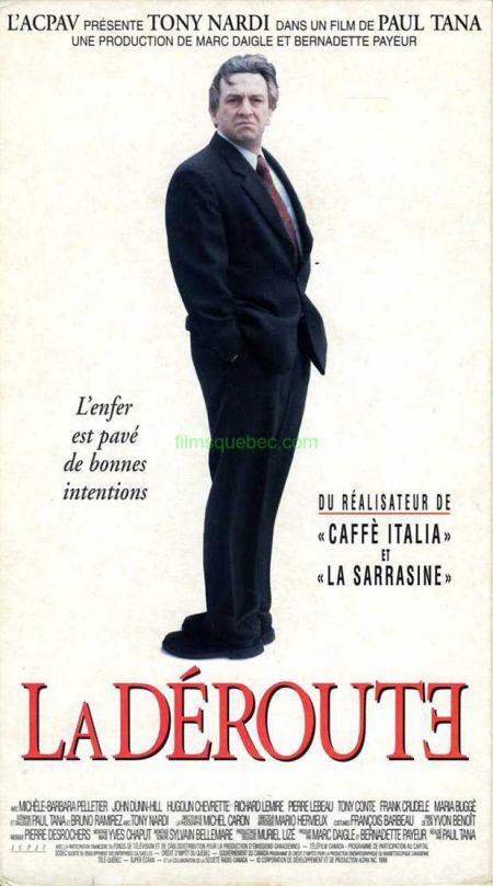 Jaquette VHS du film La déroute de Paul Tana