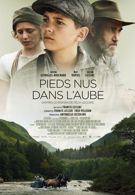 """Affiche du film """"Pieds nus dans l'aube"""" de Francis Leclerc (©Les Films Séville)"""