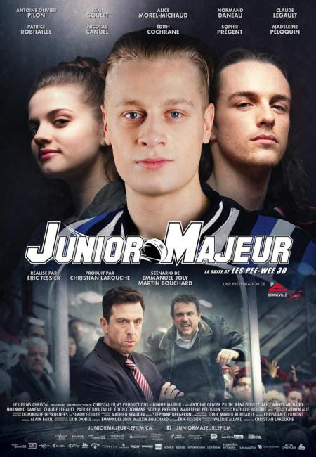 Affiche officielle du film Junior Majeur