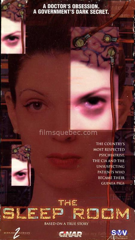 Pochette VHS du film The Sleep Room (Le pavillon de l'oubli) d'Anne Wheeler.