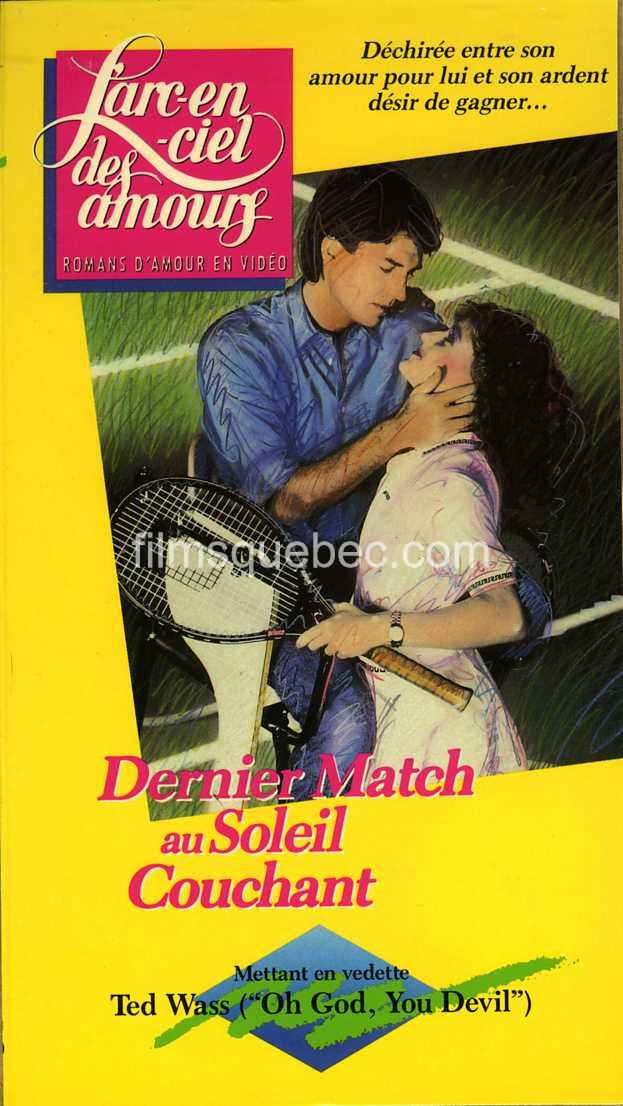 Image de la Pochette VHS du film Sunset Court de Marc F. Voizard