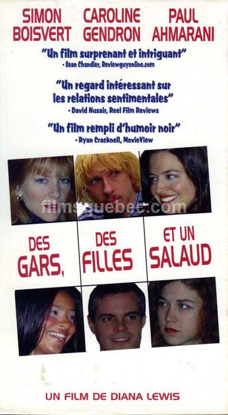 Pochette VHS de la comédie satirique Des gars, des filles et un salaud de Diana Lewis