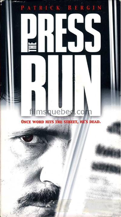 Pochette VHS du film The Press Run