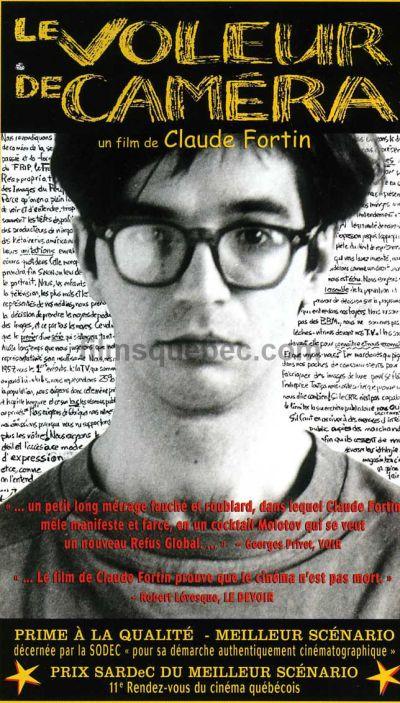 Image de la couverture de la pochette VHS du film Le voleur de caméra de Claude Fortin
