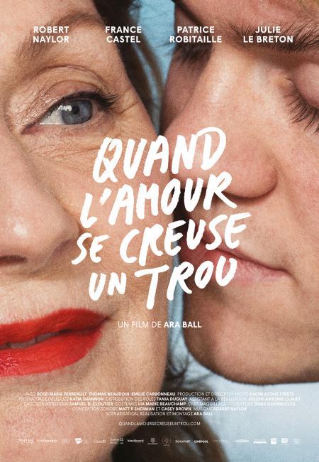 Affiche du film Quand l'amour se creuse un trou