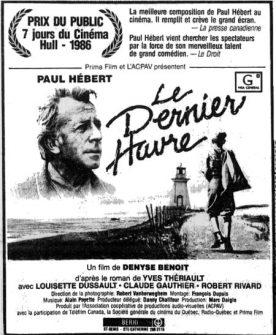 Dernier havre, Le – Film de Denyse Benoît