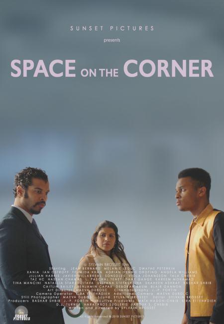 Affiche du film Space on the Corner de Sylvain Brosset (image fournie par Sunset Pictures)