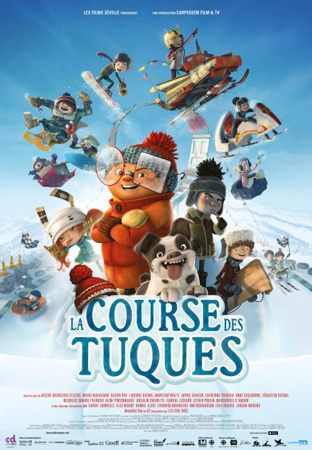 Affiche La course des tuques (Les Films Séville)