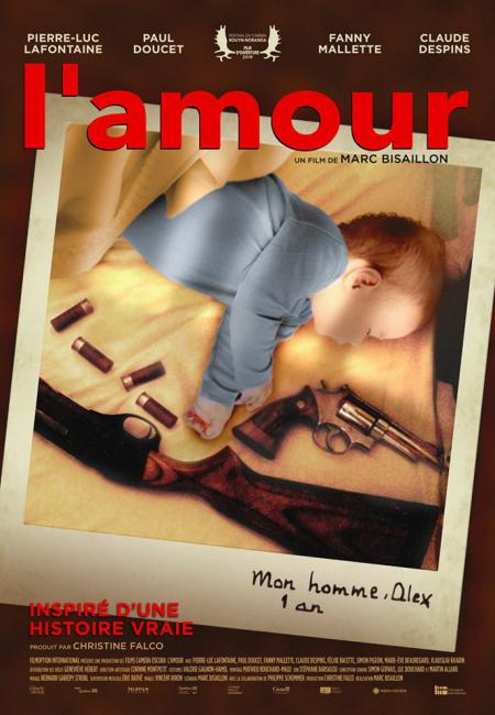 Affiche du film L'amour de Marc Bisaillon (Filmoption International)