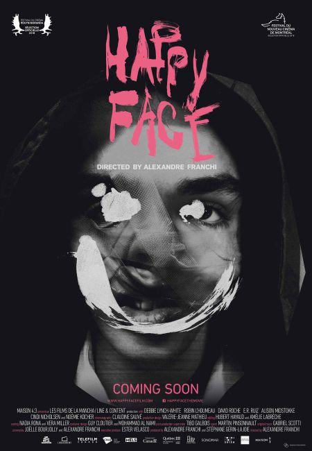 Happy Face - affiche du film de Alexandre Franchi - En salle le 9 novembre 2018
