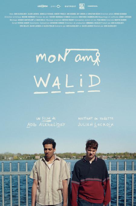 Affiche du film Mon ami Walid de Adib Alkhalidey