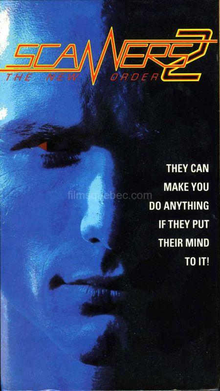 Pochette de la VHS de Scanners II