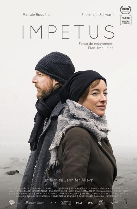 Affiche du film Impetus de Jennifer Alleyn (Les Films de Jennie)