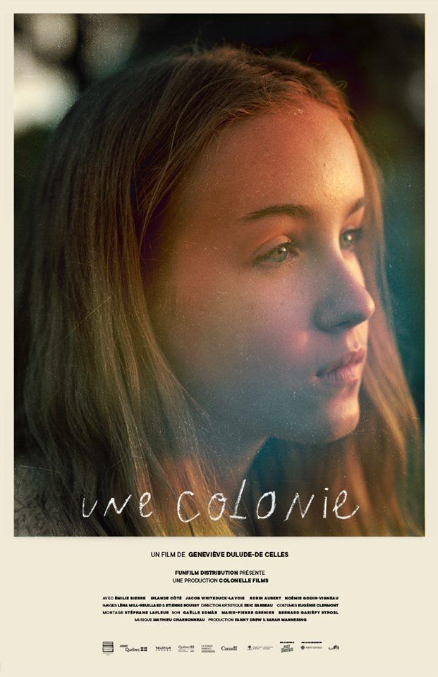Affiche du film de fiction Une colonie de Geneviève Dulude-De Celles (FunFilm Distribution)