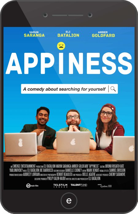 Affiche du film Appiness de Eli Batalion