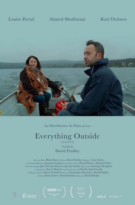 Affiche du film Everything Outside de David Findlay