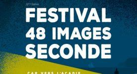 Affiche 2019 du Festival 48 images seconde